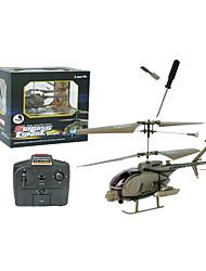 3ch helicóptero do rc com luz de rádio controle remoto helicópteros de brinquedo interior (yx02674h)