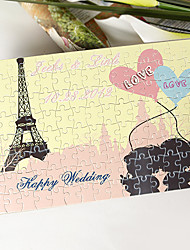 Personalized Jigsaw Puzzle - Romantic Eiffel