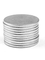 super starke Selten-Erd-Magneten wieder (15mm x 1mm / 10-pack)