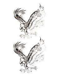 5 pcs tatouage faucon imperméables temporaires (18.5cm * 9cm)