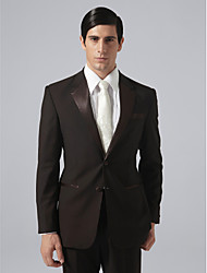 Custom Made Single Breasted Two-button Notch Lapel Groom Tuxedo