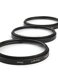 Massa 1X/2X/4X Macro Filter Lens (58mm 3-Lens Set)