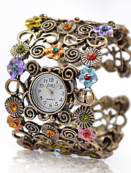 Artemis - Women's Watch Bohemian Fashionable Flower Bracelet Strap Watch Cool Watches Unique Watches