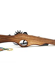 classiques multi-shot bande de caoutchouc de fusil lance-canon en bois (jouet)