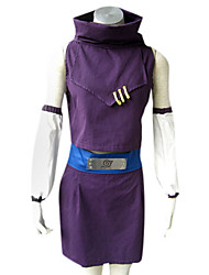 Inspired by Naruto Ino Yamanaka Anime Cosplay Costumes Cosplay Suits Patchwork Sleeveless Top Skirt Sleeves Belt For Female