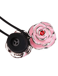 3.5mm Stereo High-quality Rose Fashion In-ear MP3/MP4 Headphone (Pink)