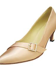 Zapatos de baile (Negro/Blanco/Oro) - Moderno/Salón de Baile Tacón de estilete