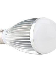Lâmpada Redonda E26/E27 7 W 700 LM K Branco Quente 7 LED de Alta Potência AC 85-265 V B