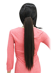 100% Imported heat-resistant Fiber Straight Ponytail