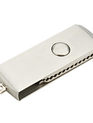 1gb inoxidável estilo aço usb flash drive (prata)