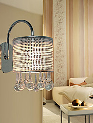 Stylish Crystal Wall Light with 1 Light