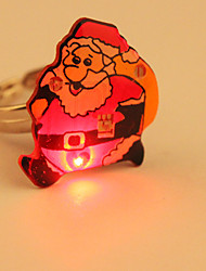 Cartoon-LED blinkt Ring (Santa Claus)