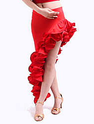 Flamenco Dress Dancewear Viscose With Ruffles Skirt For Ladies