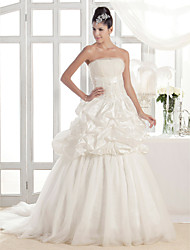 LILIANNE - Kleid für die Braut aus Tafft und Tüll