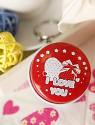 """I LOVE YOU"" Round Mint Tin (set of 6)"