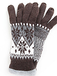 TS Thick Snow Flake Fleece Gloves (More Colors)
