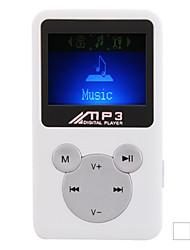 candy - 1.2 polegadas jogador mp3 com tela de lcd (fm rádio TF)