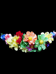 Women's / Flower Girl's Paper Headpiece-Wedding / Special Occasion Flowers