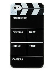 Protective Hard ABS Case for iPhone 4 and 4S (Movies)