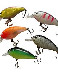 difícil shad difícil pesca do lure 80 milímetros 10,5 g (5 peças embalado)