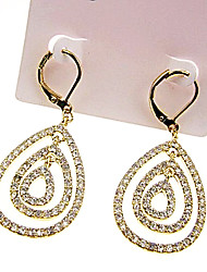 Teardrop Jewel Embellished Earrings