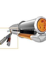 2-en-1 LCD rotatif de curling et de redressage de fer