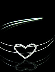Gorgeous Rhinestone Heart Bridal Headband/Headpiece