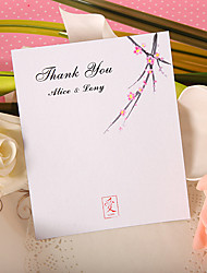 Thank You Card - Blossom (Set of 50)