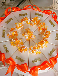 Orange Cake Favor Box (Set of 10)