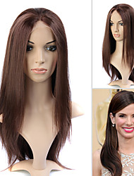 Full Lace (French Lace) 100% Human Remy Hair Sandra Bullock's Hair Style Wig