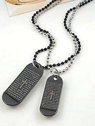 collier de prière du seigneur (lot de 2)