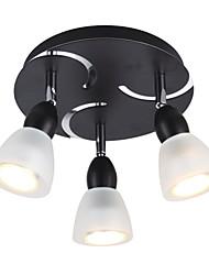 élégant montage semi-affleurant avec 3 de la lumière dans toute