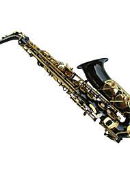 saxofone alto placa de níquel preto