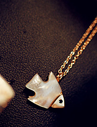 Fish Shell Necklace