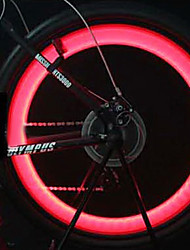 Bike Light Wheel light S-Shape Steel Wire Light