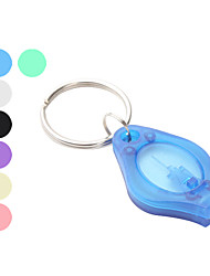 Key Chain Flashlights LED 2 Mode 50 Lumens Super Light / Compact Size / Small Size Others CR2016 Others , Multi-Colored Plastic