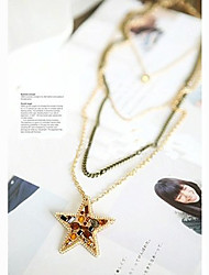 Crystal Star collier