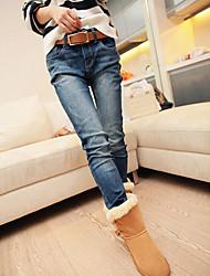 Жан узкие брюки