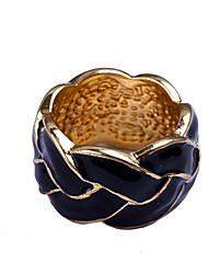 мода глазурь оставляет узорная кольцо