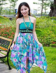Cotton Halter Maxi Dress (More Colors)