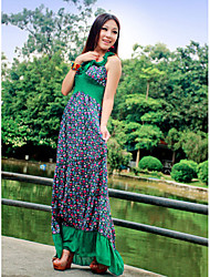 Cotton Scoop Neck Maxi Dress (More Colors)