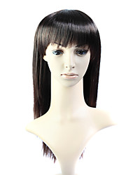 Capless Long 100% Heat Friendly Fiber Straight Hair Wig