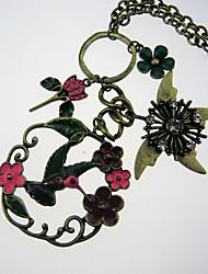 Цветы и травы ожерелье