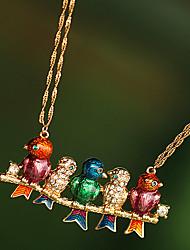 Collier petit oiseau