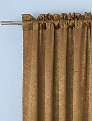 (Un panneau) chambre relief idéal assombrissement rideau thermique