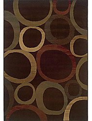 хохолком шерсти ковры области с кольцевым модель 3 '* 5'