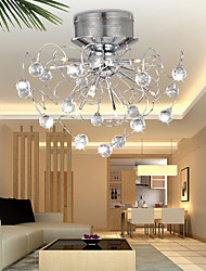 Crystal Ceiling light with 9 Lights in Artistic Style