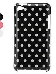 Retro Protective Hard Case for iPod Touch 4 (Small Dots)