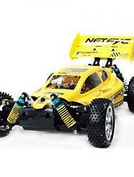 Buggy YX 4WD 1:10 RC Car Yellow / Orange Ready-To-GoRemote Control Car / Remote Controller/Transmitter / Battery Charger / User Manual /
