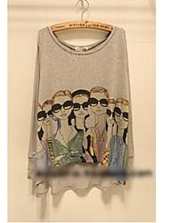 Modern Girls drucken T-Shirt